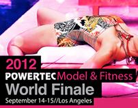 Model & Fitness World Finale Flyers