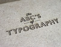 The ABC's of Typography