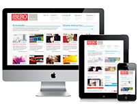 Ibero Diseño Website