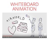 Airworld Travel Whiteboard Animation Video