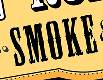 Golden Road Smoke & BBQ Branding