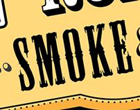 Golden Road Smoke & BBQ Branding