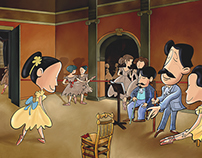 """Inspired by """"Edgar Degas"""""""