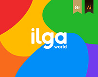 Logo System for ILGA