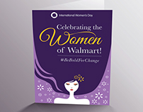 Women's Day Creatives for @WalmartLabs.