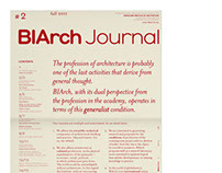 BIArch Journal