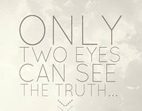 """Insipiration """"Two eyes can see the truth"""" (April)"""