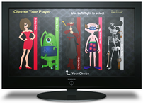Avatar Design for iiNet Set Top Box Games