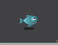 Creative Fish company logo FISGO