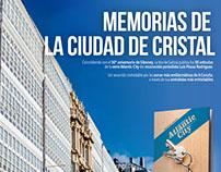 """Promo """"Memorias de la ciudad de cristal"""""""