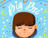 Cover for poetry zine Big Bri Love