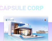 Capsule Corp - e-commerce