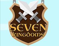 Seven Kingdoms | UI, Illustration