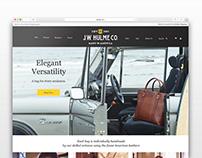 Leatherwear Ecommerce Re-Design