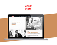 Web Design and Development - LEGAL FIRM