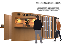 Timberland Customisation Booth Redesigned