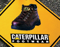 Caterpillar Print Ads