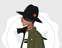 Streetwear Illustrations for HighSnobiety