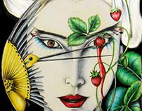 Artworks/Illustrations - pencils on paper (2011/12)