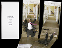 Falling Guy Direct Mail