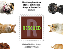 USPS Adopt a Shelter Pet Stamp Book Cover