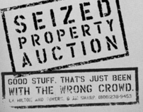 Seized Property Auction Ads