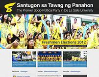 Santugon Website
