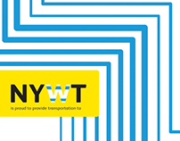 New York Water Taxi Rebrand