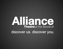 Alliance Theater Promotional Banners