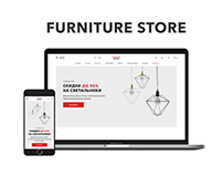 LEVANTIN – Online furniture store redesign concept