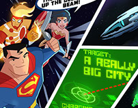 Justice League Action Webgame