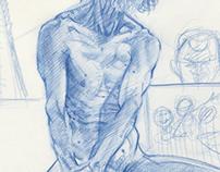 Lawrence-Life Drawing on Sunday
