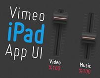 Vimeo iPad App UI (concept)