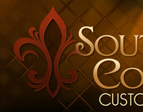 """Southern Comfort Custom Concrete"" Logo Update"