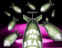Drop It Hard/Drop The Beat Event Flyers