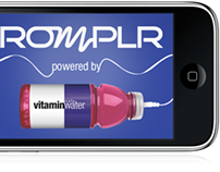 Romplr 50 Cent/VitaminWater iPhone App and Microsite