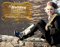 Lookbook Design Holiday 2010, for ModCloth