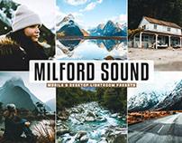 Free Milford Sound Mobile & Desktop Lightroom Presets