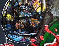 Graffiti and streetart.