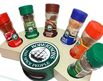 ROBERSONS SPICE RACK