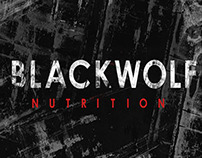Black Wolf Nutrition package design
