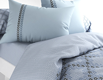 Textile CG - Bed