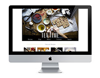 Tea Time Website
