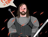 The Hound / illustration