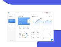 Hovo (Landing page & dashboard design)