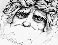 'Bacchus' - Final illustration