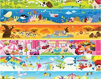 IPH Schools - Classroom Wallpaper Set