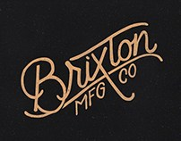 Brixton - Bronze Lettering
