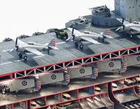 KE History - USS Enterprise Aircraft Carrier