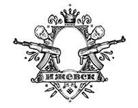 Аlternative coat of arms of Izhevsk
